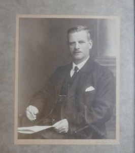 William Catlin Woods - headmaster to the boys from 1919-1933