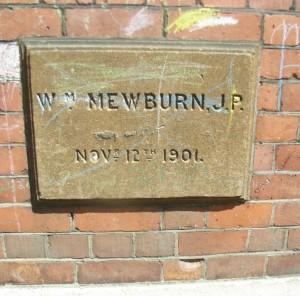 William Mewburn donated £2,000 to help found Dashwood School