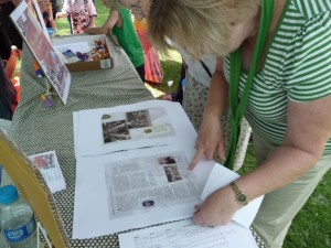We showed Dashwood's history book at Banbury's Hobby Horse Festival 2009