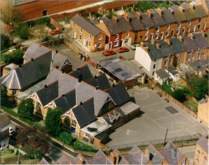 Can you date this aerial view of Dashwood? Click to enlarge.